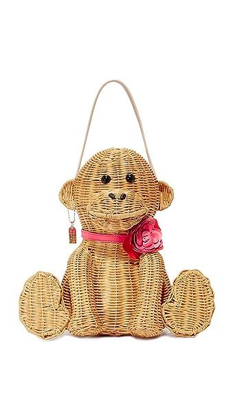 Kate Spade New York Wicker Monkey Bag