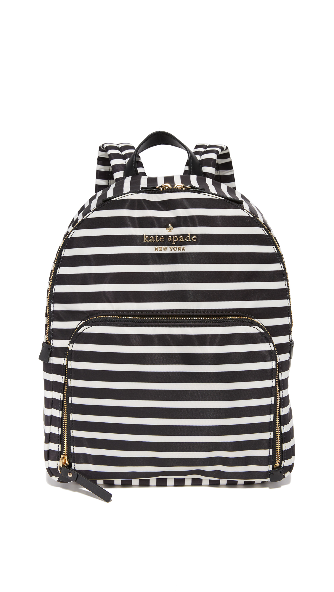 Kate Spade New York Watson Lane Hartley Backpack - Black/Clotted Cream