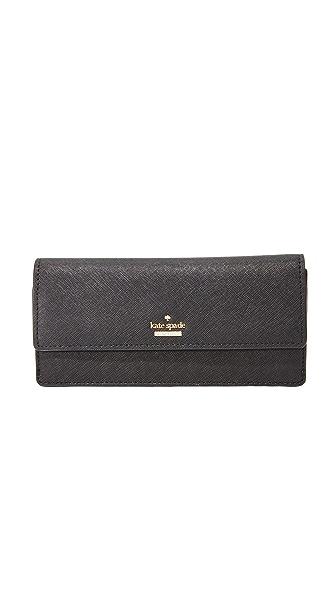 Kate Spade New York Cameron Street Alli Contenental Wallet - Black