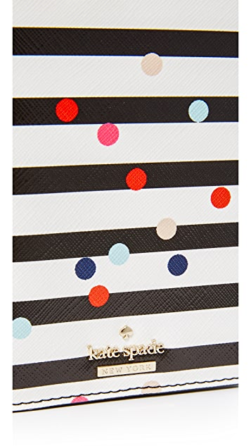 Kate Spade New York Confetti Dot Passport Holder