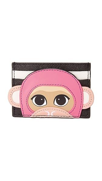 Kate Spade New York Monkey Card Case