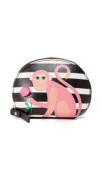 Kate Spade New York Monkey Dumpling Card Case