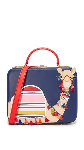 Kate Spade New York Camel Casie Box Bag