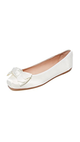 Kate Spade New York Fontana Ballet Flats In Ivory