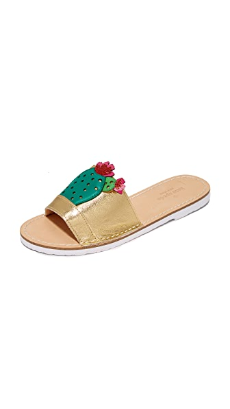 Kate Spade New York Iguana Cactus Slides