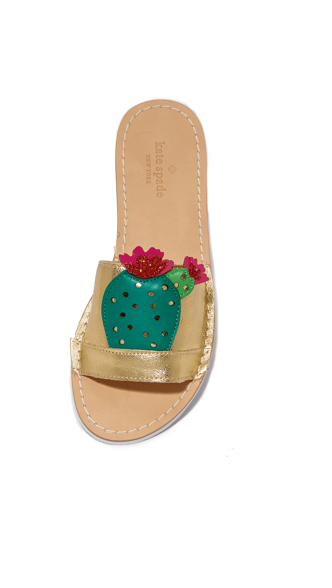 7d7ca1115aa2 Kate Spade New York Iguana Cactus Slides