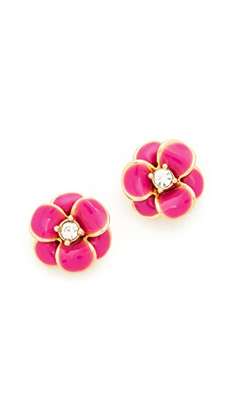 Kate Spade New York Shine On Flower Stud Earrings - Pink