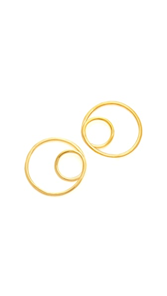 Kate Spade New York Shine On Twisted Hoop Earrings - Gold