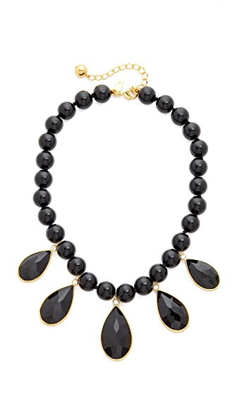 Kate Spade New York True Colors Stone Necklace In Black Multi