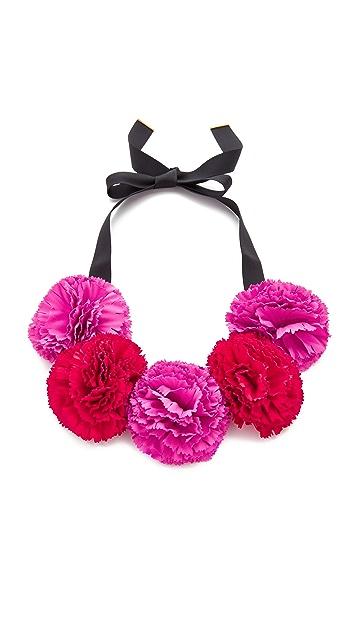 Kate Spade New York Fiesta Floral Statement Necklace
