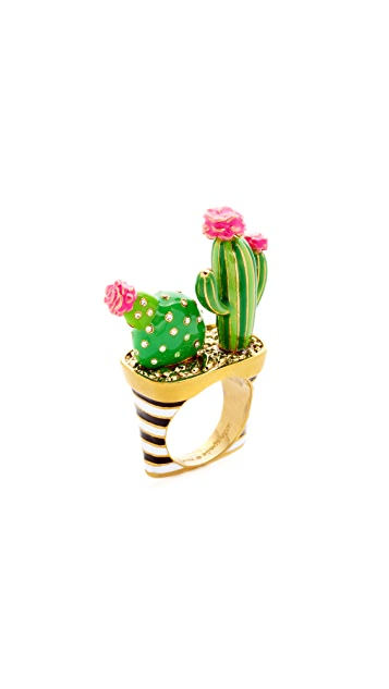 Kate Spade New York Scenic Route Cactus Ring