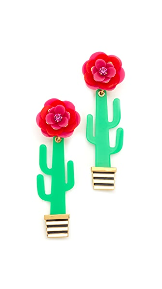 Kate Spade New York Cactus Statement Earrings