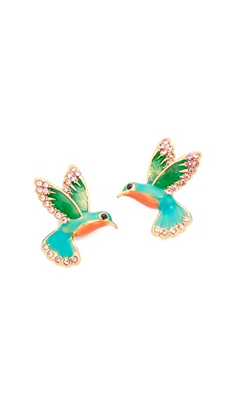 Kate Spade New York Hummingbird Stud Earrings
