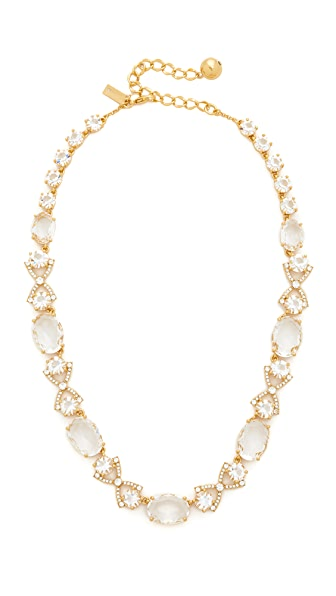 Kate Spade New York Crystal Cascade Necklace - Clear/Gold