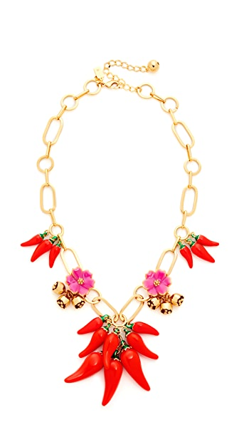 Kate Spade New York Pepper Statement Necklace - Multi