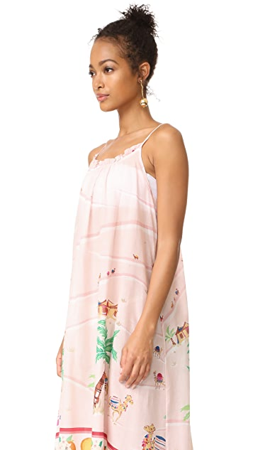 Kate Spade New York Orangerie Cover Up Maxi Dress