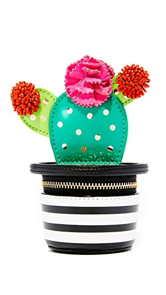 Kate Spade New York 3D Cactus Coin Purse
