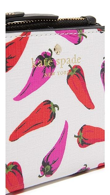 Kate Spade New York Hot Pepper Adalyn Mini Wallet