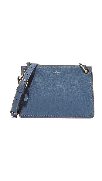 Kate Spade New York Dunne Lane Caro Cross Body Bag - Azurite