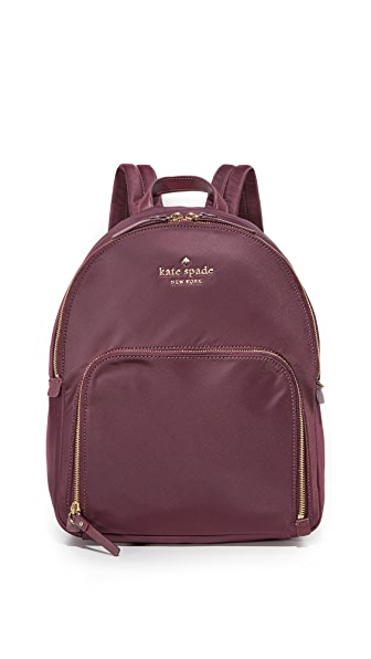 Kate Spade New York Watson Lane Hartley Backpack - Deep Plum