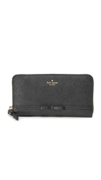 Kate Spade New York Cooke Hill Lacey Wallet - Black