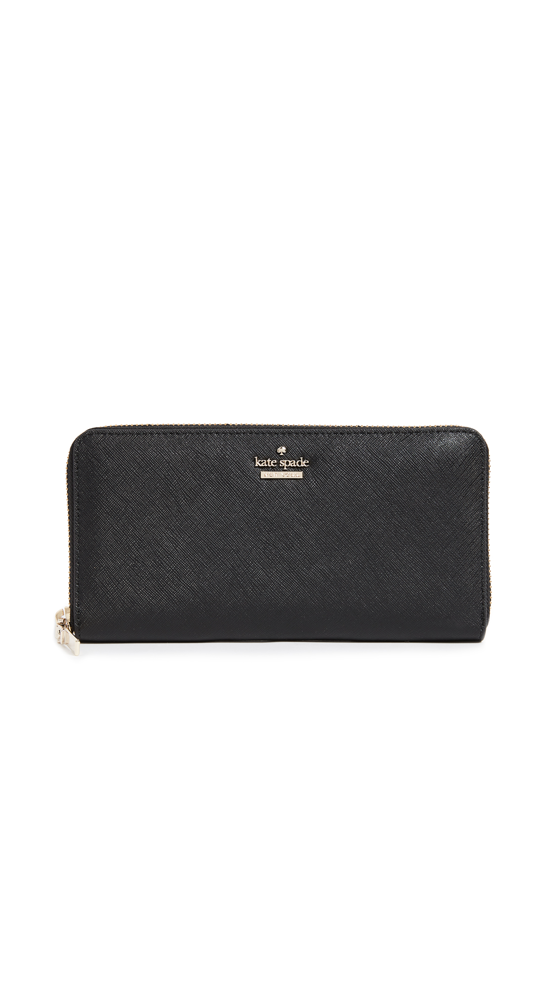 Kate Spade New York Cameron Street Lacey Zip Around Wallet - Black
