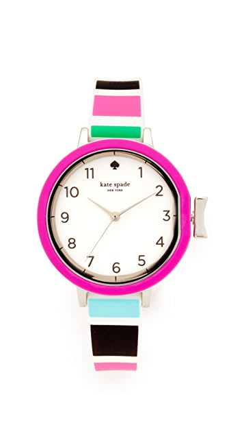 Kate Spade New York Park Row Silicone Watch