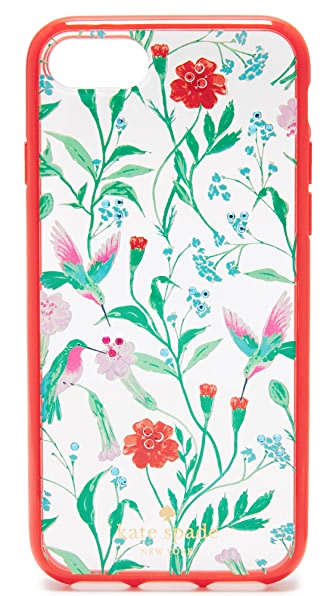Kate Spade New York Jeweled Jardin Clear iPhone 7 Case - Clear Multi