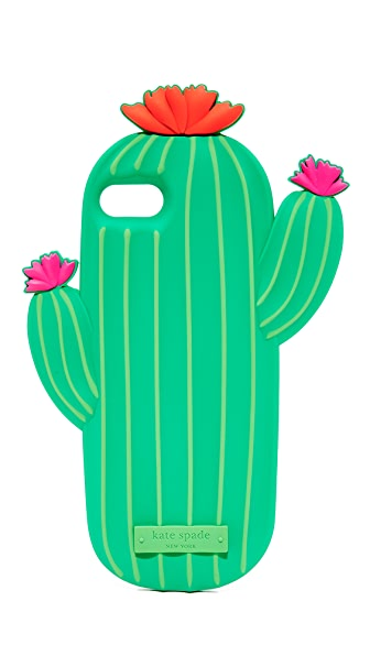Kate Spade New York Silicone Cactus iPhone 7 Case