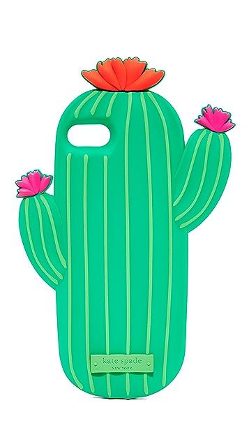 Kate Spade New York Silicone Cactus iPhone 7 / 8 Case