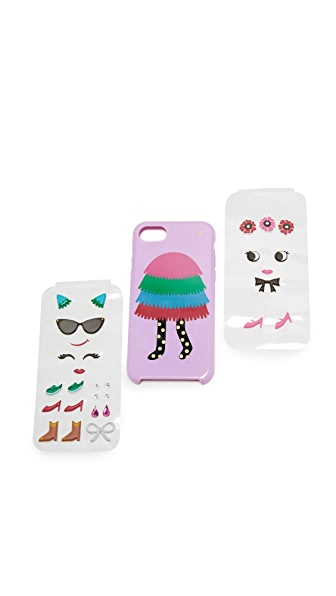 Kate Spade New York Make Your Own Pinata Girl iPhone 7 Case - Multi