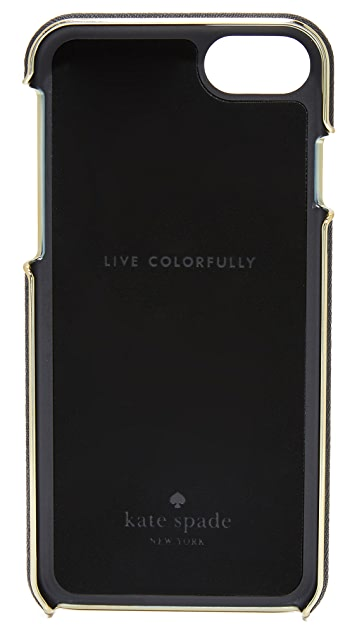 Kate Spade New York Leather Inlay iPhone 7 Case