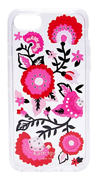 Kate Spade New York Jeweled Garland iPhone 7 Case - Clear Multi