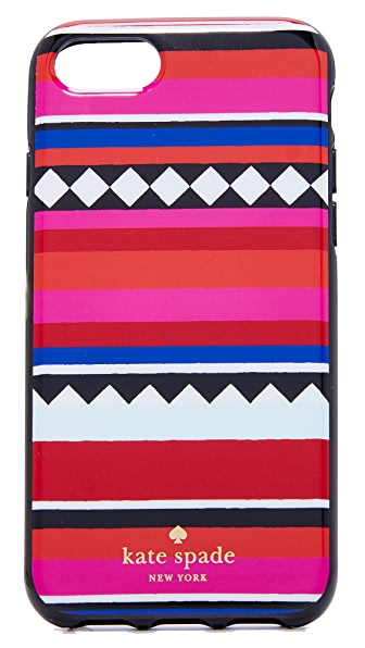 Kate Spade New York Geo Stripe iPhone 7 Case