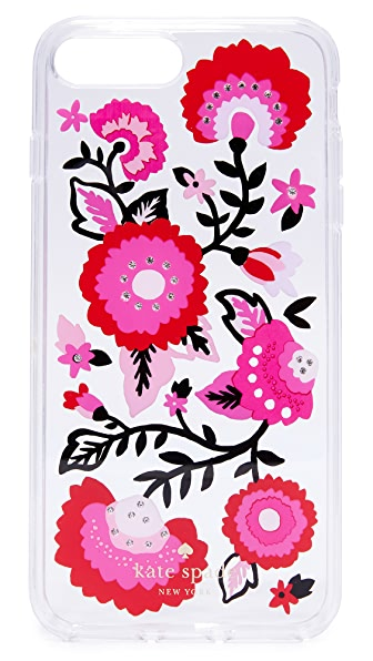 Kate Spade New York Jeweled Garland iPhone 7 Plus Case - Clear Multi