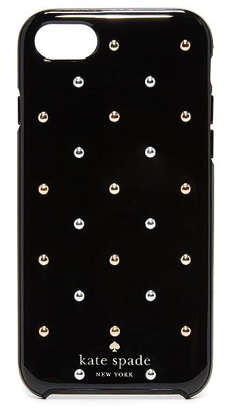 Kate Spade New York Larabee Dot Mini Stud iPhone 7 Case