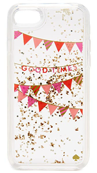 Kate Spade New York Good Times Confetti iPhone 7 Case - Clear Multi