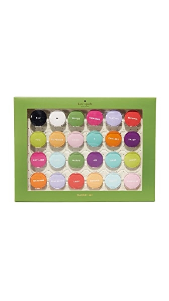Kate Spade New York Assorted Magnet Set