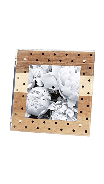 Kate Spade New York Wood & Acrylic Picture Frame