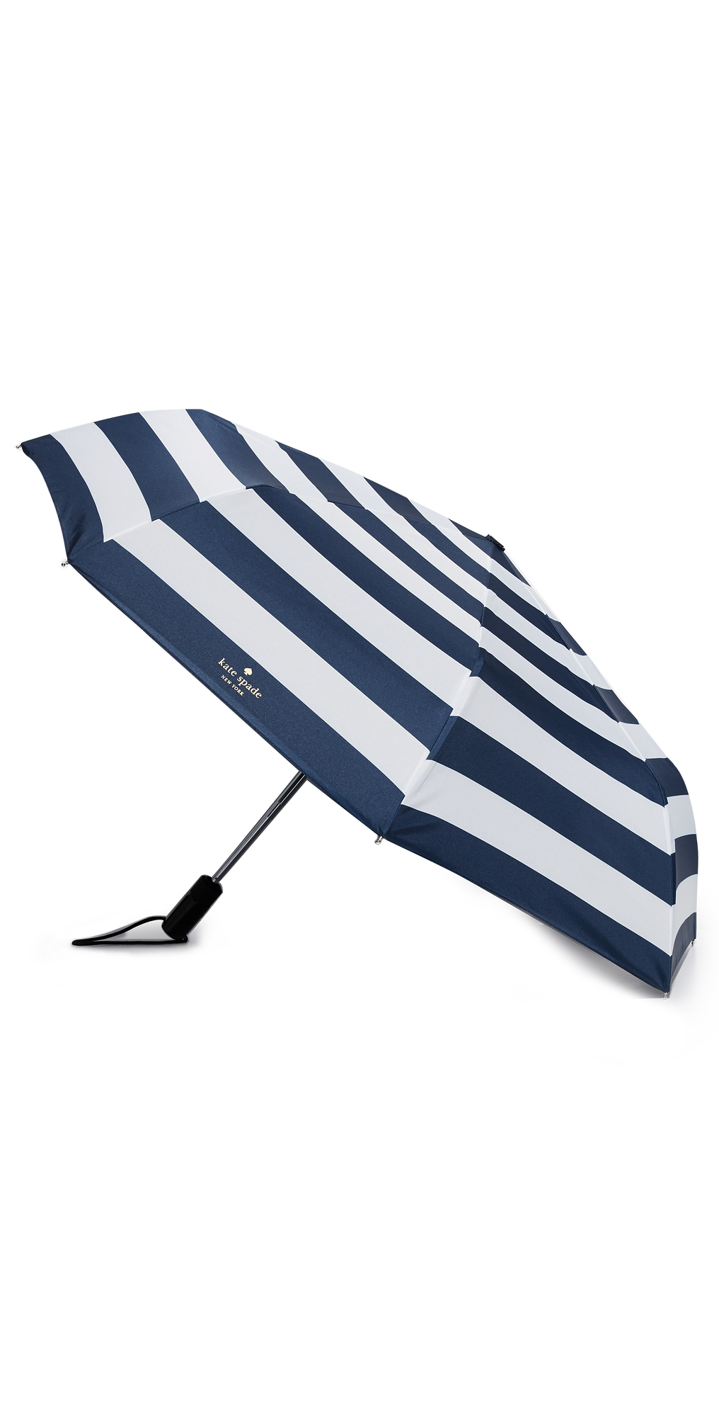 Jubilee Stripe Travel Umbrella Kate Spade New York