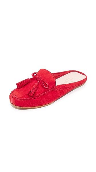 Kate Spade New York Matilda Tassel Mules - Maraschino Red