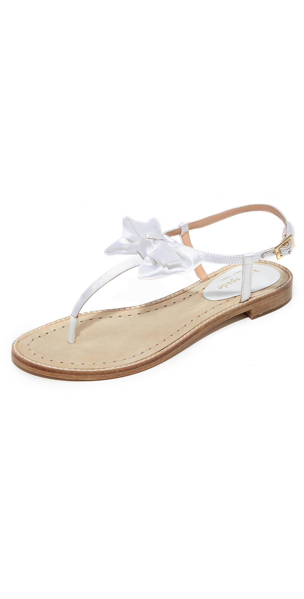 Serrano Bow Sandals Kate Spade New York