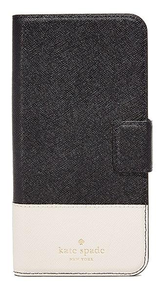 Kate Spade New York Leather Wrap Folio iPhone 7 Plus Case