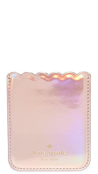 Kate Spade New York Scallop Adhesive Phone Pocket