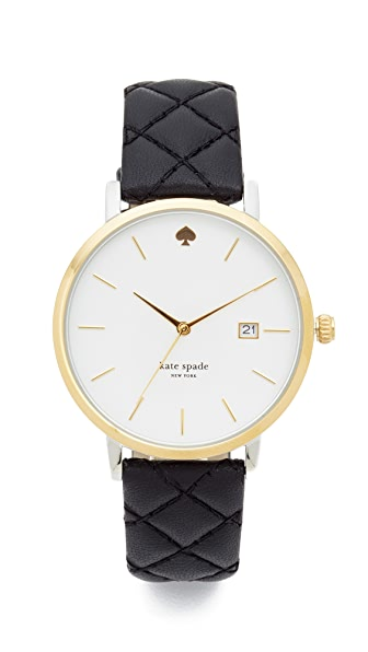 Kate Spade New York Metro Grand Quilted Watch at Shopbop