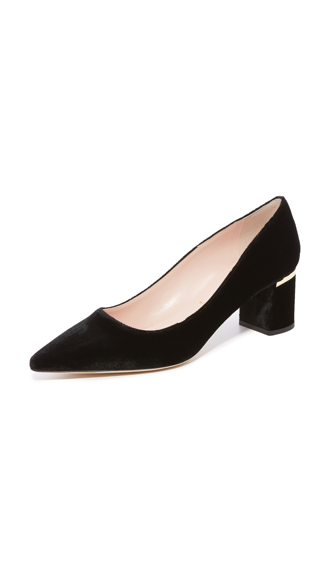 Kate Spade New York Milan Too Pointed Toe Pumps - Black