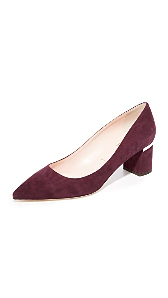 Kate Spade New York Milan Too Pointed Toe Pumps - Deep Cherry