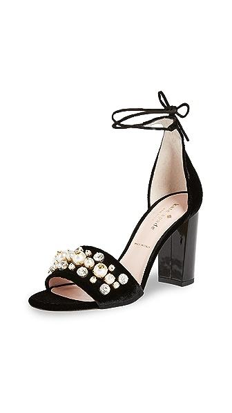 Kate Spade New York Iverna Bejeweled Pumps In Black