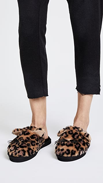 Kate Spade New York Belindy Plush Slippers