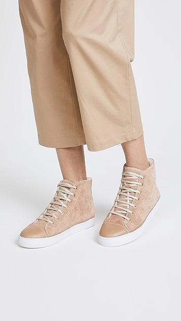 Kate Spade New York Lendal High Top Sneakers